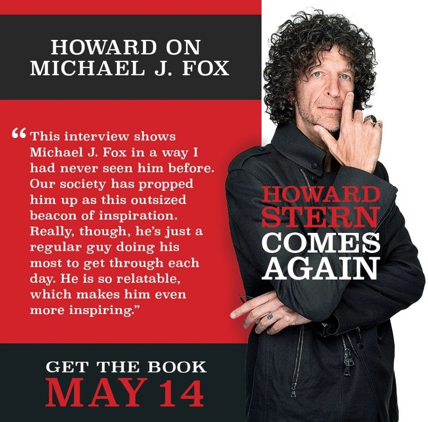 Howard Stern Inspired By Michael J. Fox