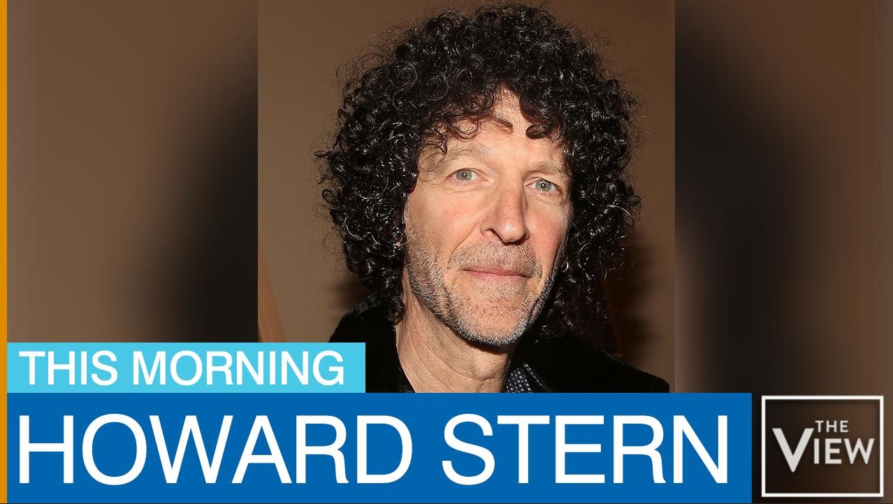 Howard Stern on The View